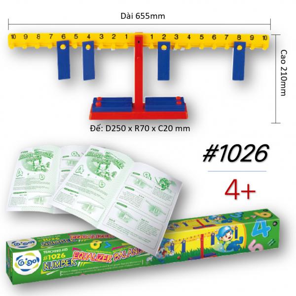 Bộ Gigo Toys Chiếc Cân Dạy Học Toán Mầm Non Mẫu Giáo 1026