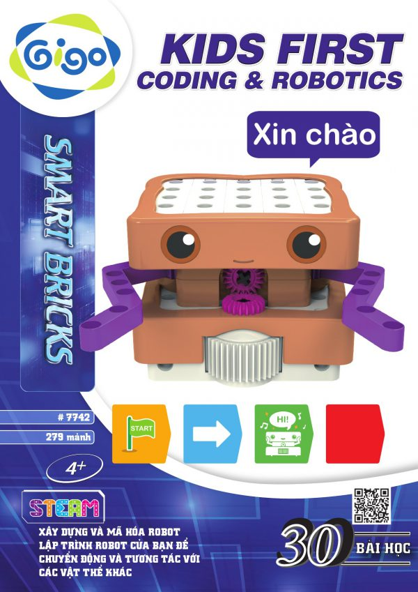 Bé Chơi Lập Trình Robot 30 chủ đề 279 chi tiết #7442
