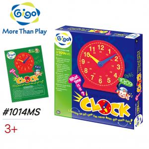 Hộp Gigo Toys Đồng Hồ Dạy Học Nam Châm 1014MS