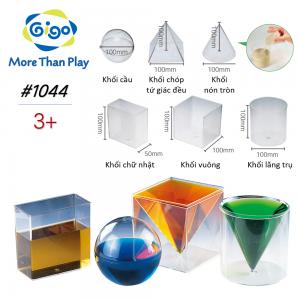 Bộ tính thể tích mầm non 1044 Gigo Toys