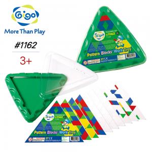 Khay Tam Giác Xếp Hình Bổ Sung 1162 Gigo Toys