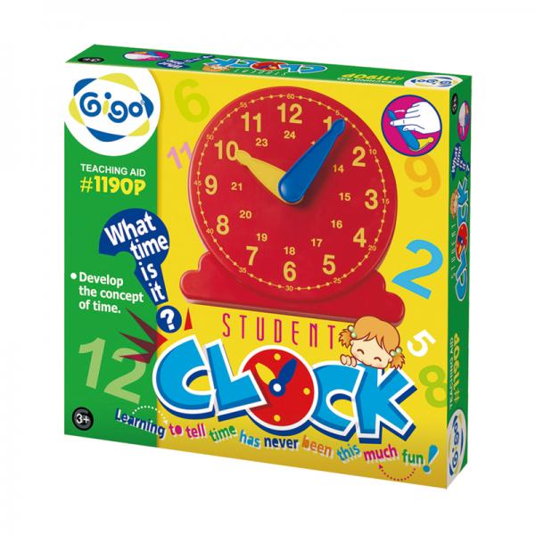 Thiết bị dạy học Gigo toys Đồng hồ học sinh 1190P