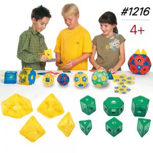 Thùng Gigo Toys Dạy Xếp Hình Khối 3D 240 Chi Tiết Nhiều Màu 1216