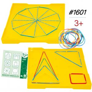 Bộ Gigo Toys Bảng Dạy Hình Học Hai Mặt Size Nhỏ 208 Chi Tiết 1601