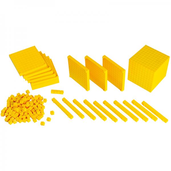 Hộp Gigo toys Dạy toán thập phân mầm non mẫu giáo 121pcs 1002SC