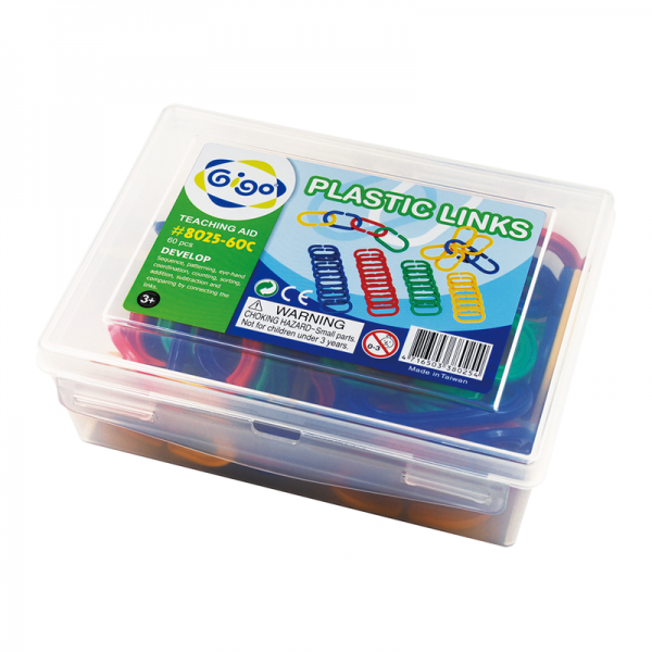 Ghép Móc Xích Nhựa Mầm Non 8025-60C