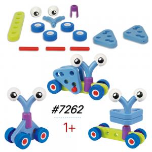 Đồ chơi cho trẻ sơ sinh Lắp Ráp Mô Hình Xe 7262