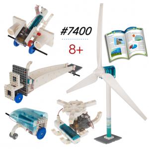 5 mô hình Tuabin Gió phát điện 77 chi tiết 7400