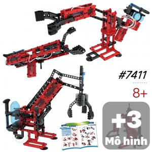 Đồ chơi lắp ghép Robot Khí Động Lực Học 6 mô hình 7411