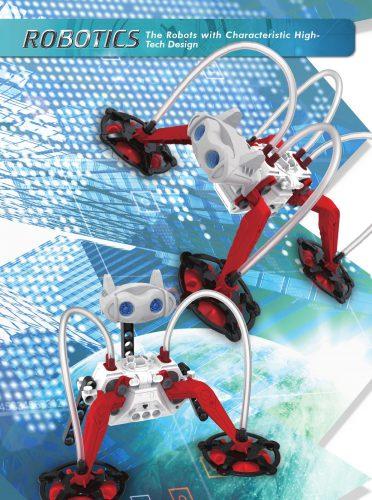 Đồ chơi lắp ráp Robot Leo Kính 5 mô hình 7435