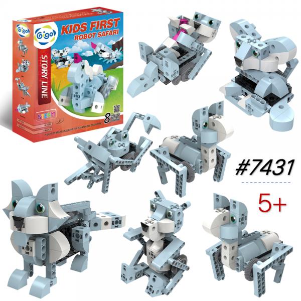 Mô hình Robot Động Vật Có Động Cơ lắp ráp 7431
