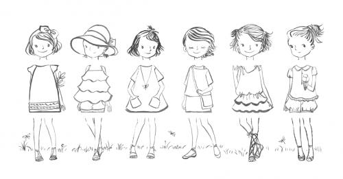 Các bản vẽ phác họa các thiết kế thời trang Mùa Hạ 29040